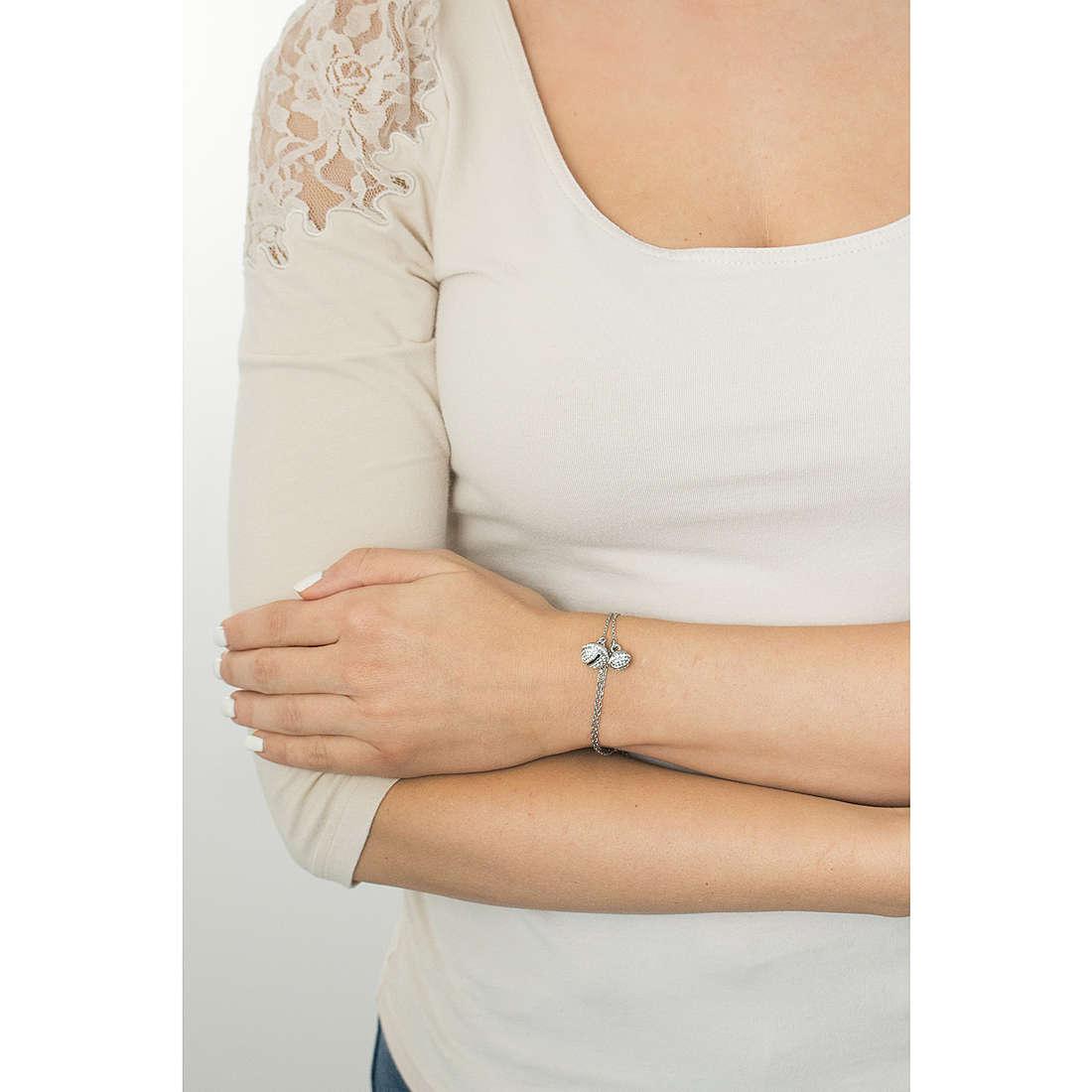 Luca Barra bracelets Giuly woman LBBK1087 photo wearing