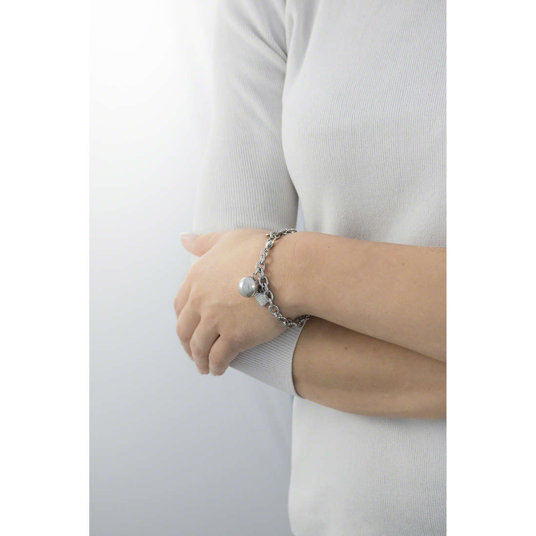 Luca Barra bracelets woman LBBK1009 indosso