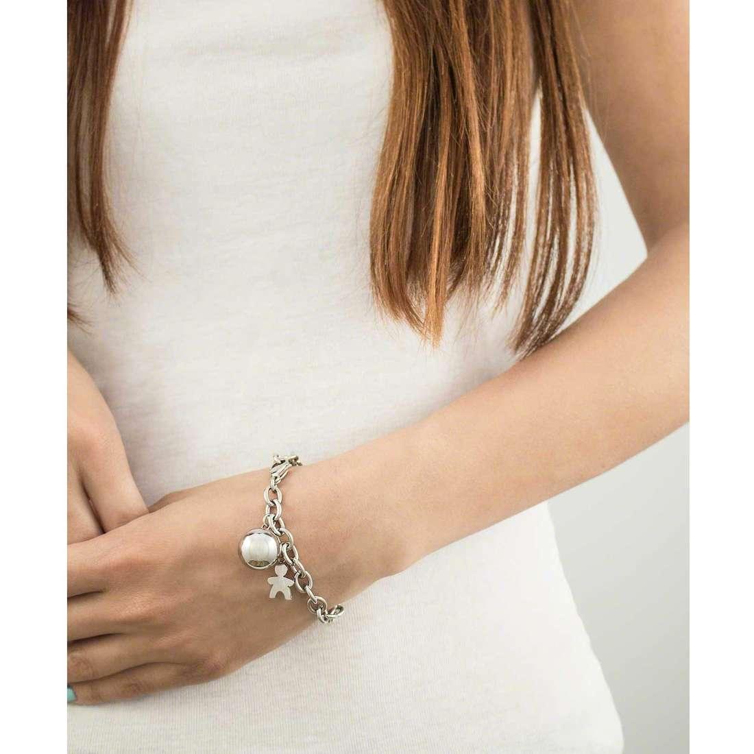Luca Barra bracelets woman LBBK1010 photo wearing