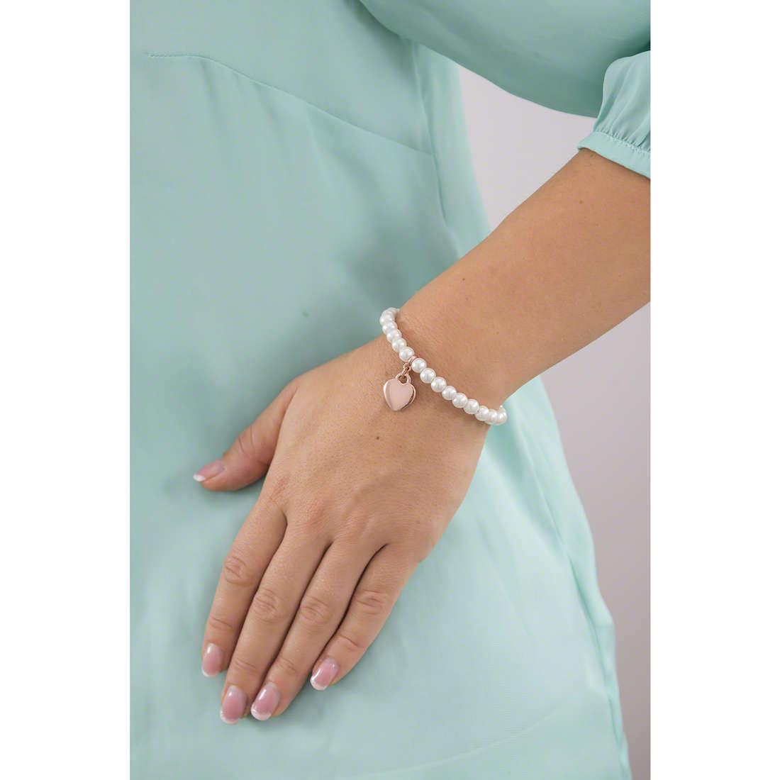 Luca Barra bracelets woman LBBK1018 indosso