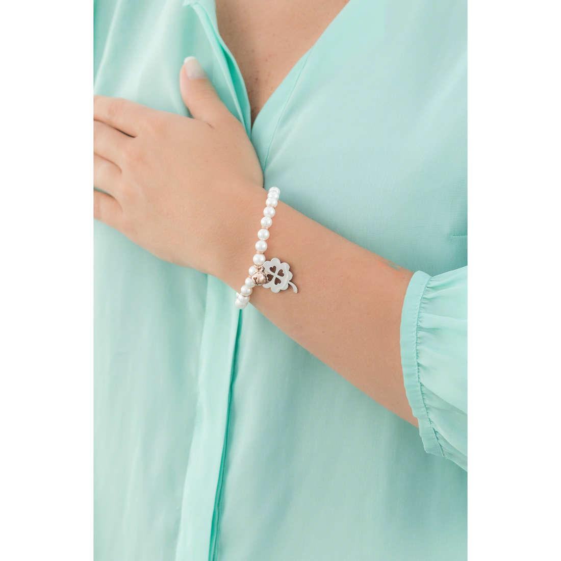 Luca Barra bracelets woman LBBK1057 indosso