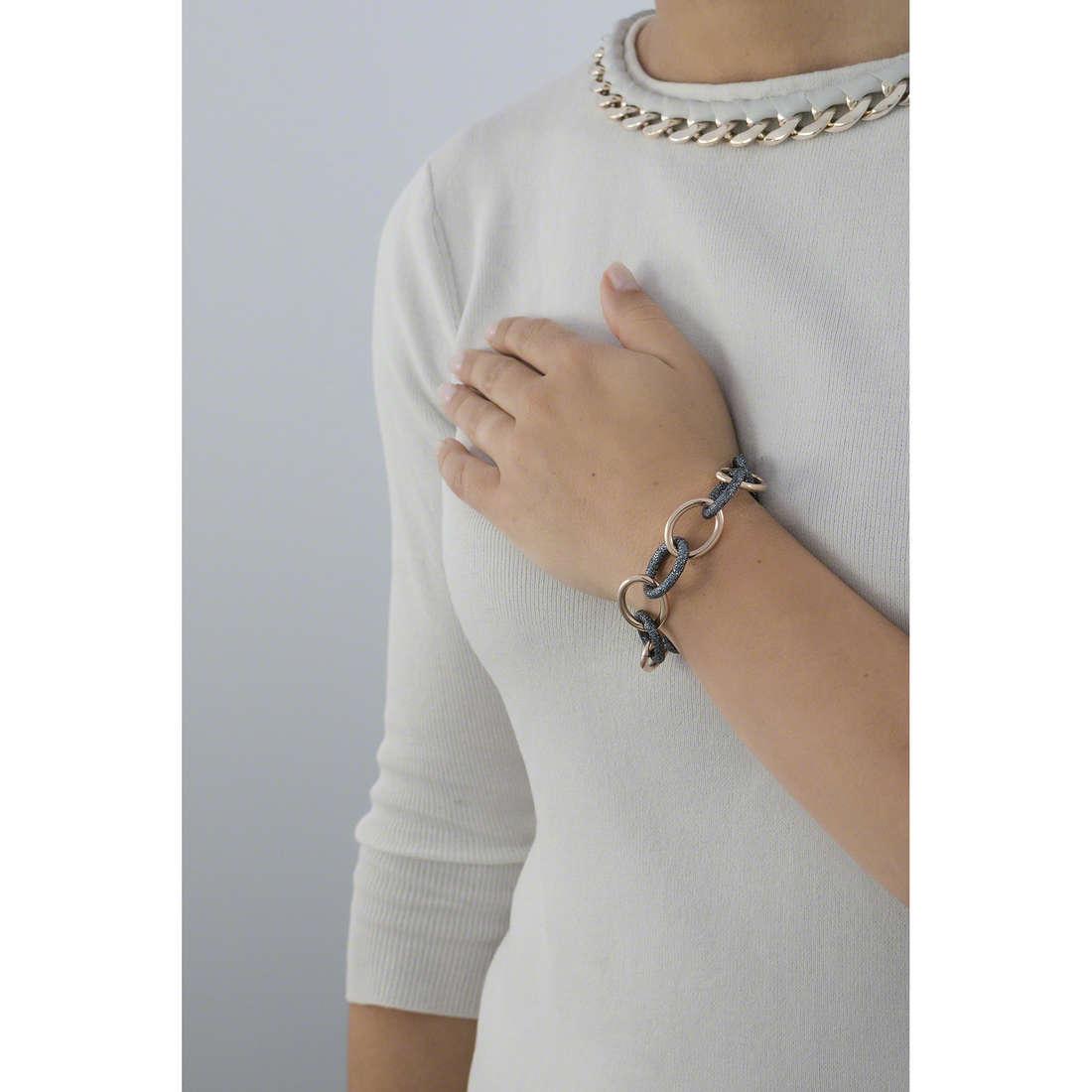 Luca Barra bracelets woman LBBK1067 indosso