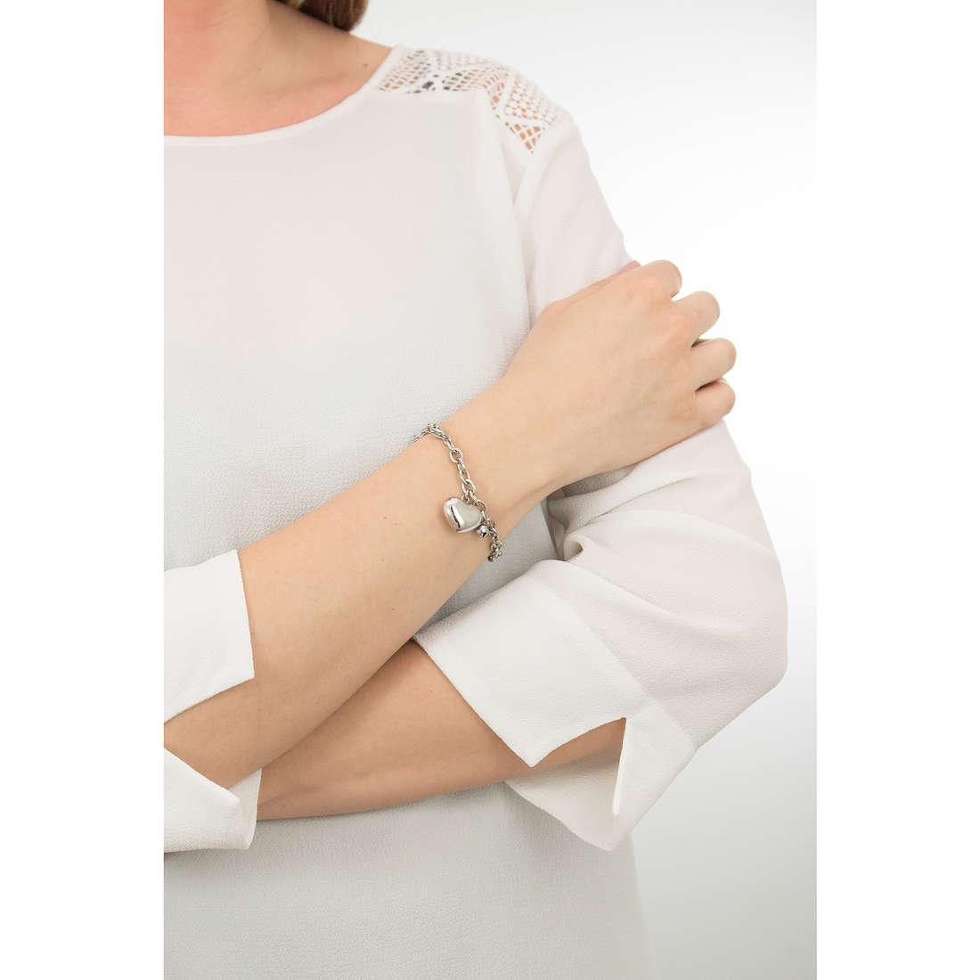 Luca Barra bracelets woman LBBK1239 indosso