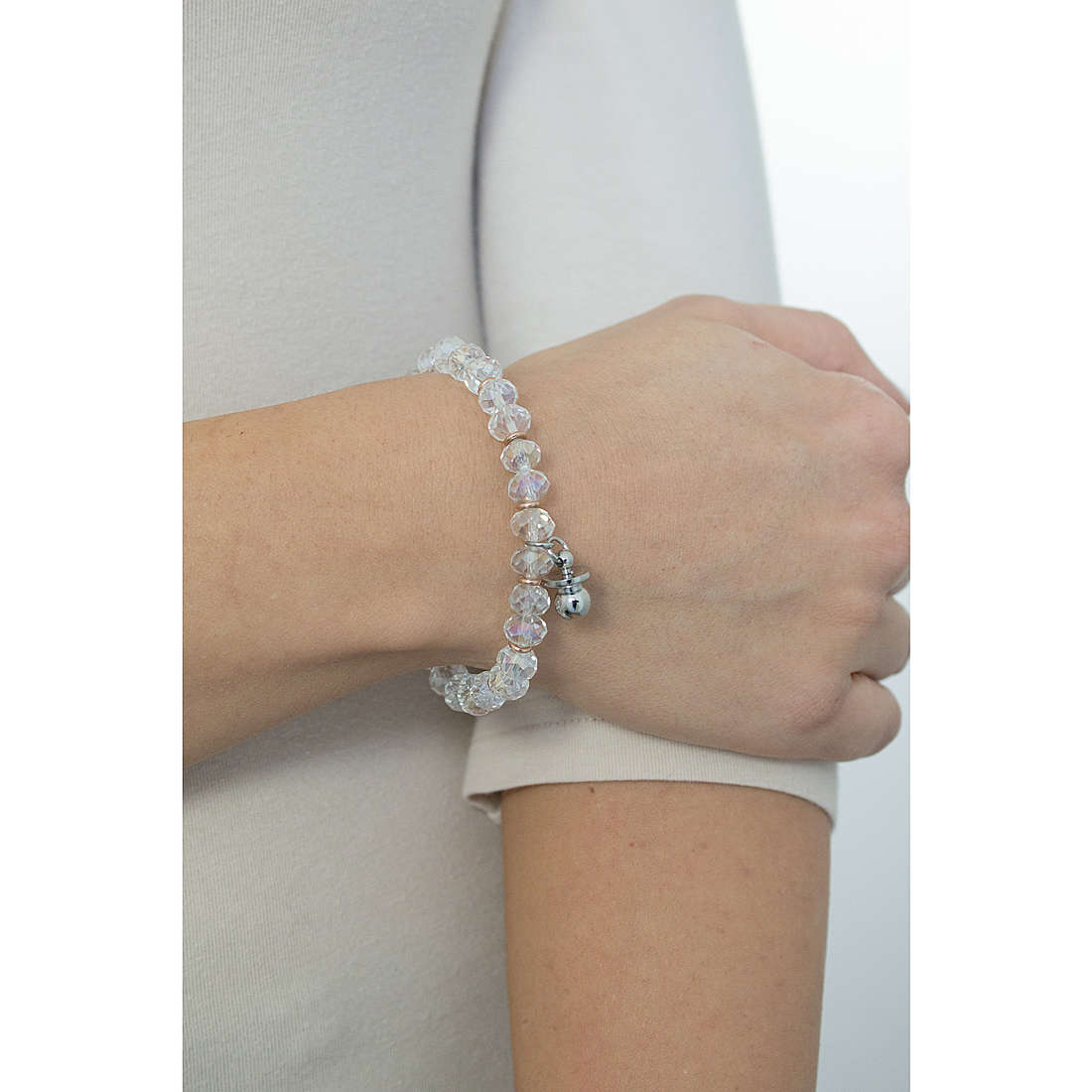 Luca Barra bracelets woman LBBK1245 photo wearing