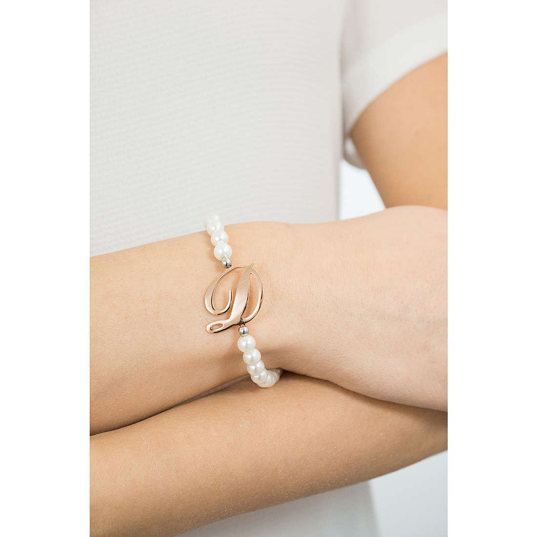 Luca Barra bracelets woman LBBK1266 photo wearing