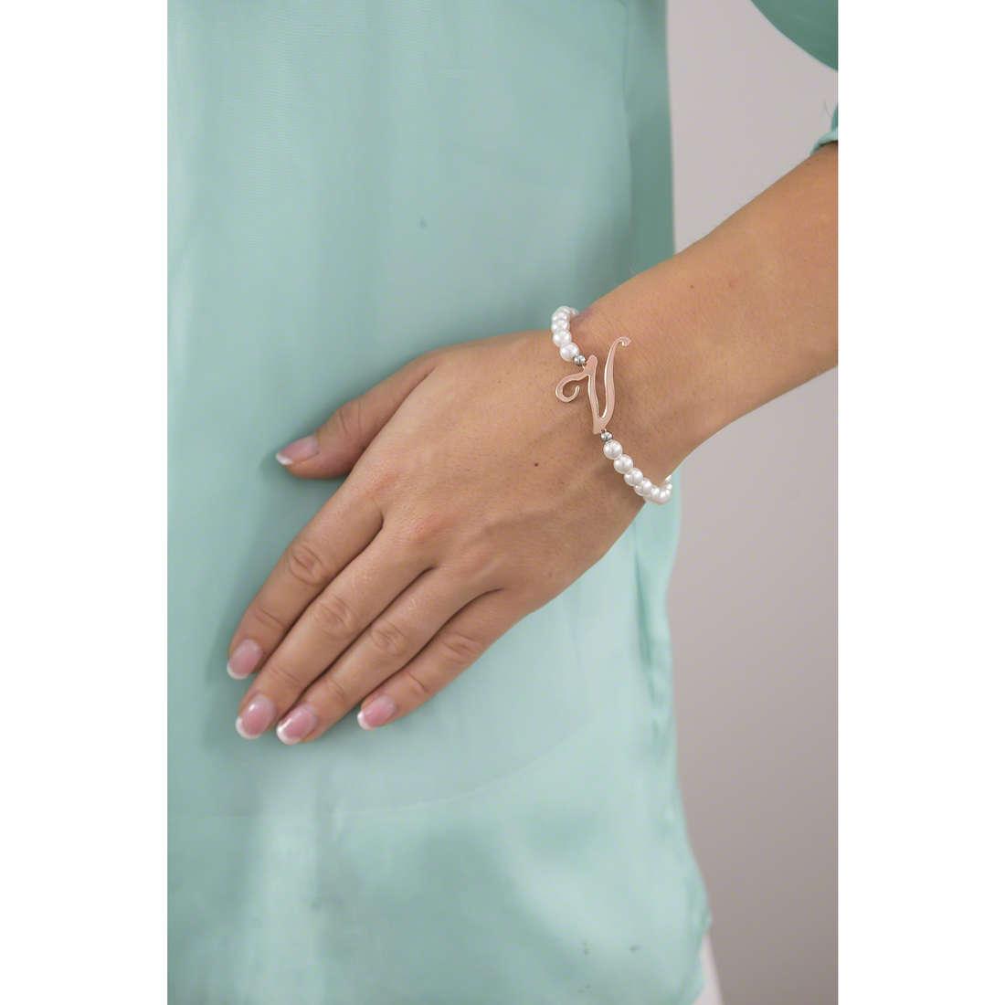 Luca Barra bracelets woman LBBK1278 indosso