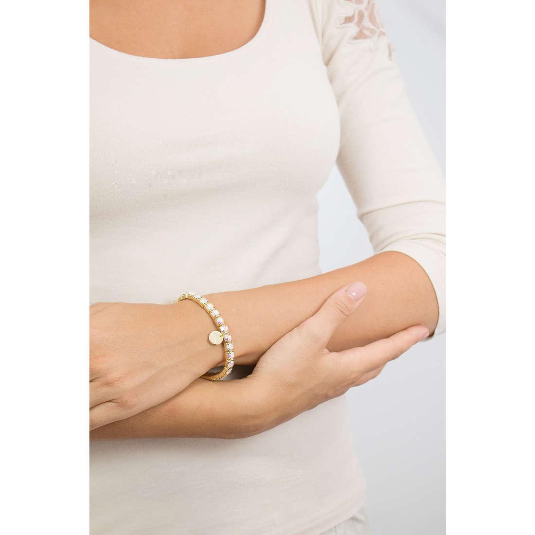 Luca Barra bracelets woman LBBK1301 photo wearing