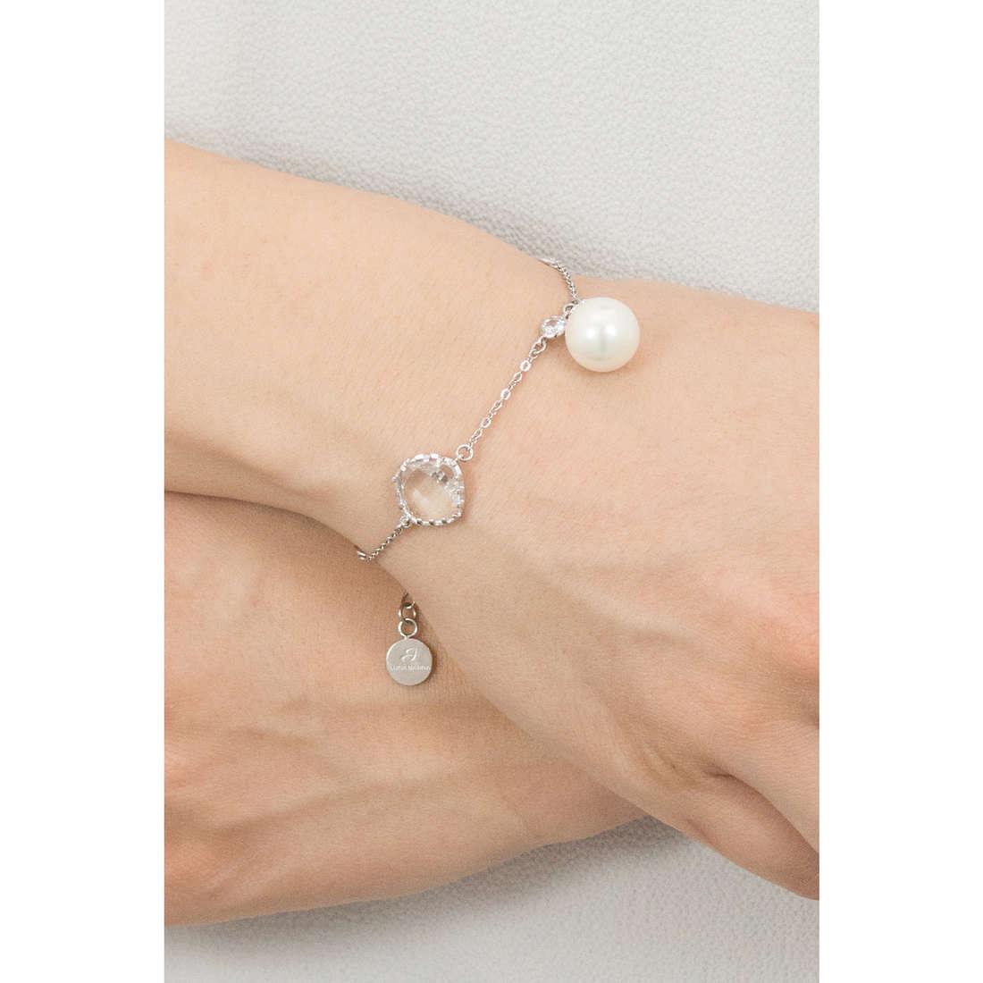 Luca Barra bracelets woman LBBK1305 indosso