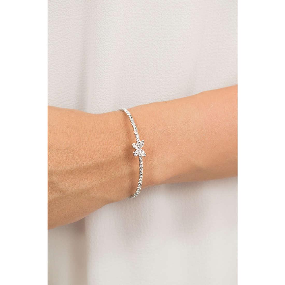 Luca Barra bracelets woman LBBK1319 indosso