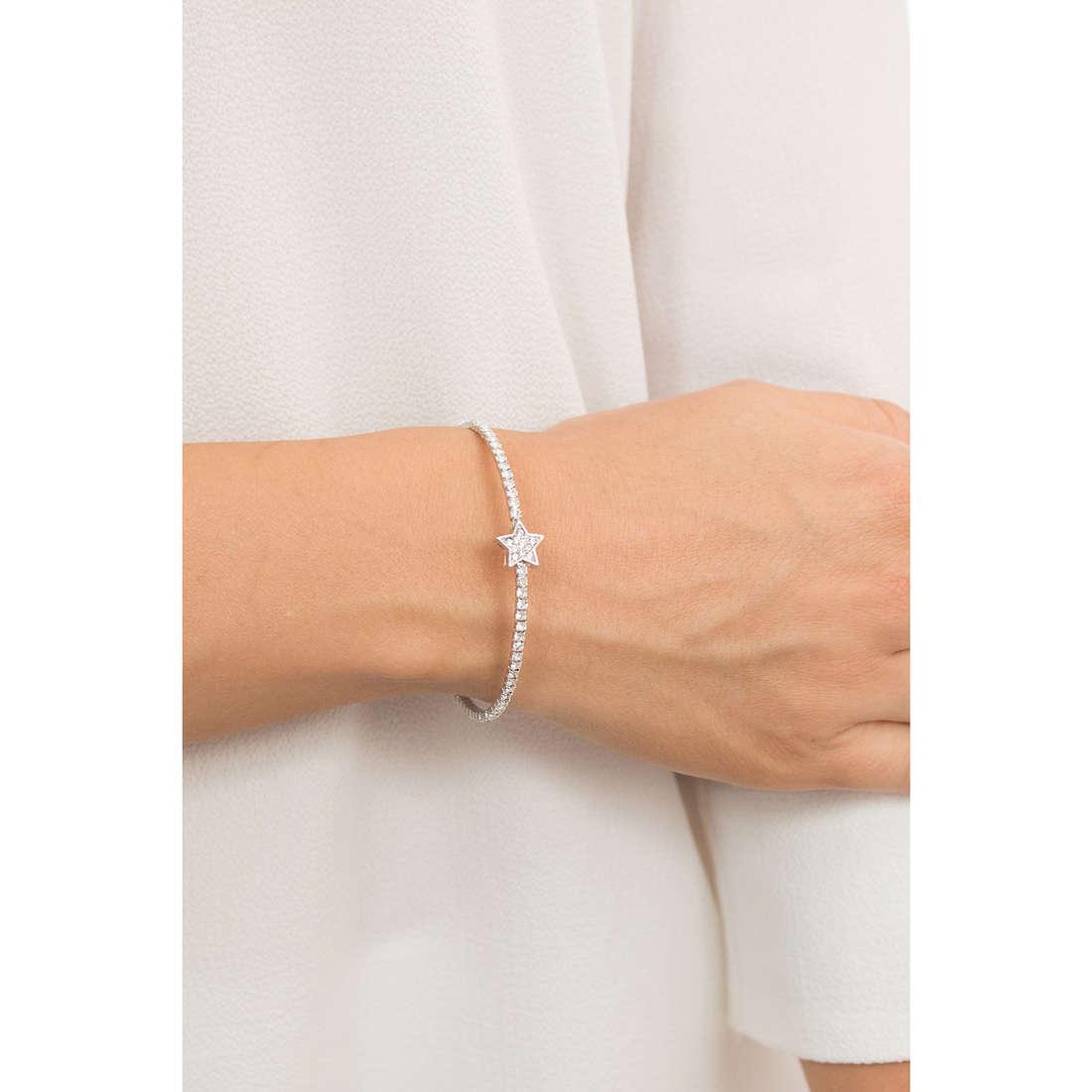 Luca Barra bracelets woman LBBK1322 indosso