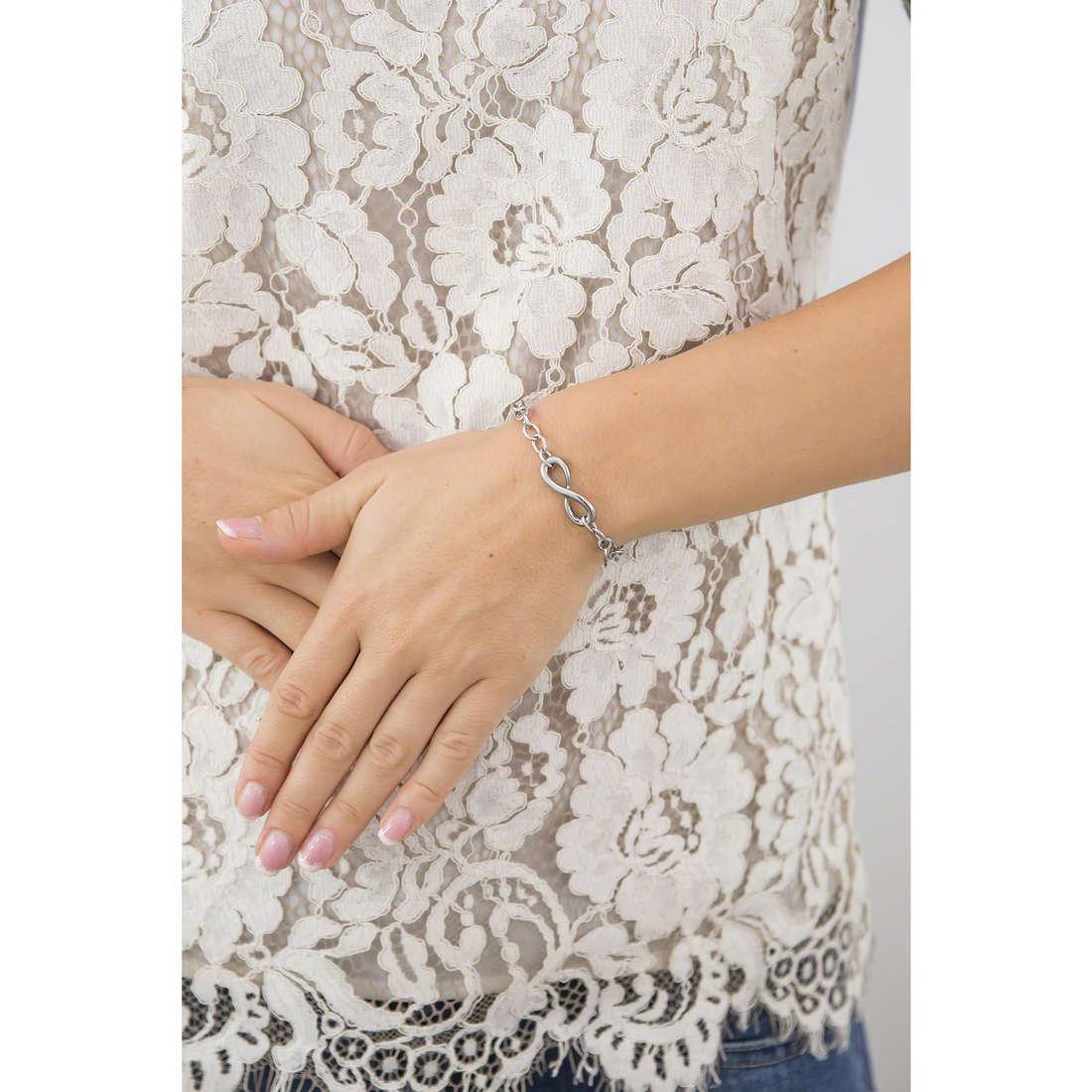 Luca Barra bracelets woman LBBK548 indosso
