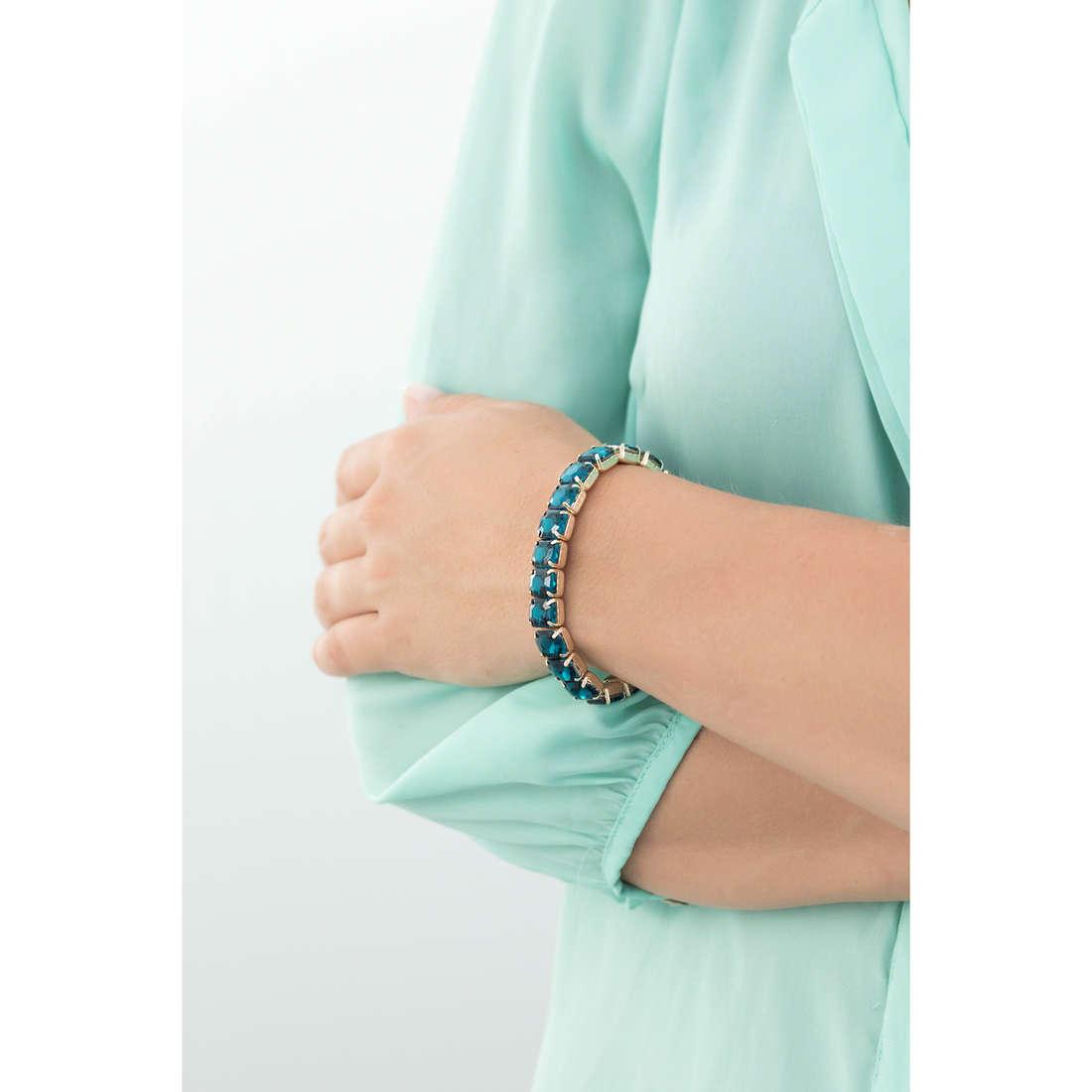 Luca Barra bracelets woman LBBK872 indosso