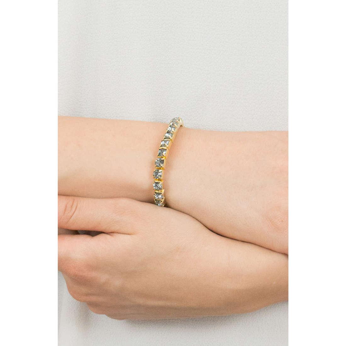 Luca Barra bracelets woman LBBK874 indosso