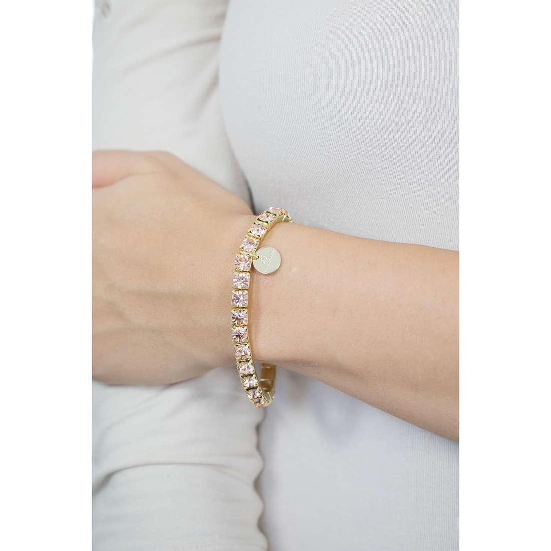 Luca Barra bracelets woman LBBK875 photo wearing