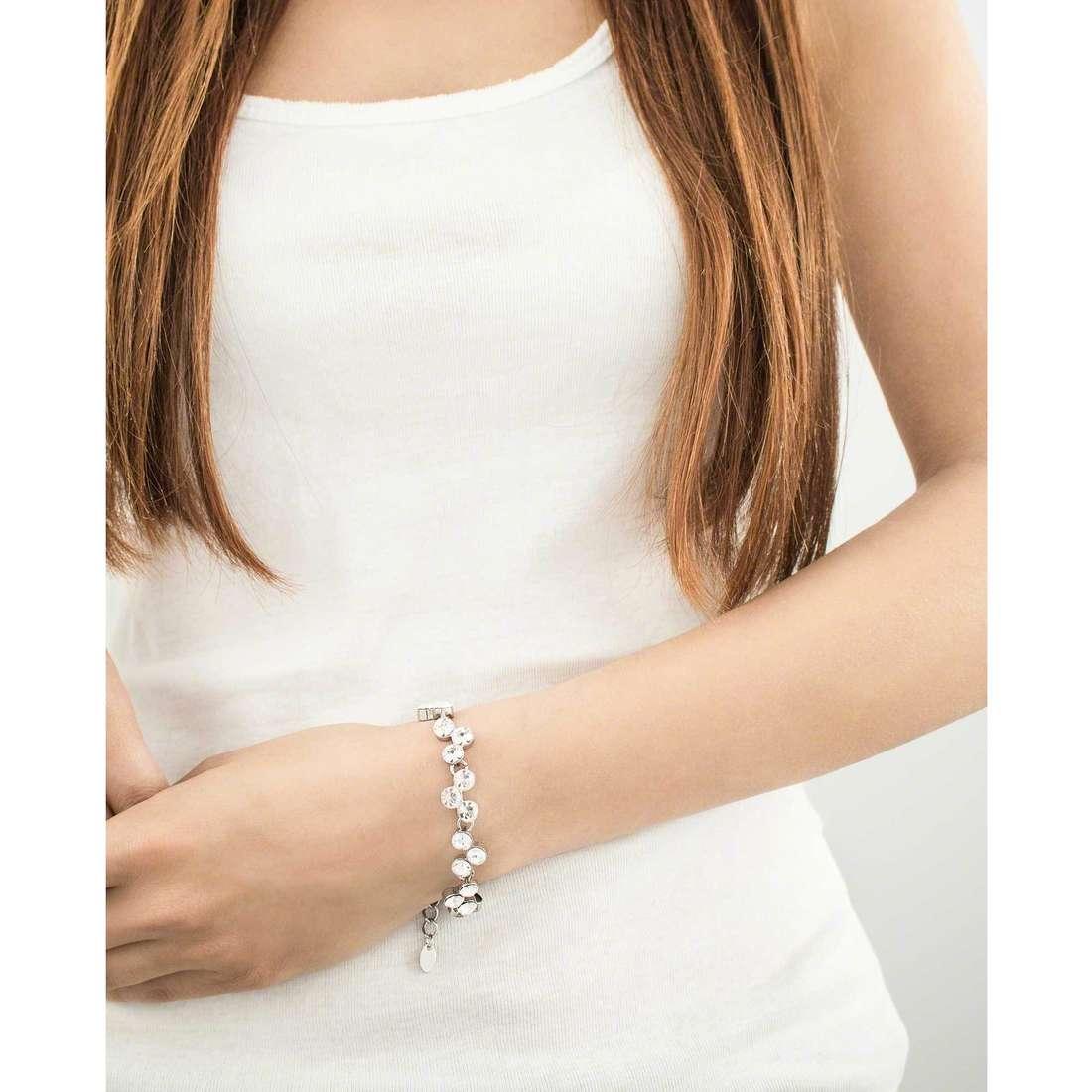 Luca Barra bracelets woman LBBK986 indosso