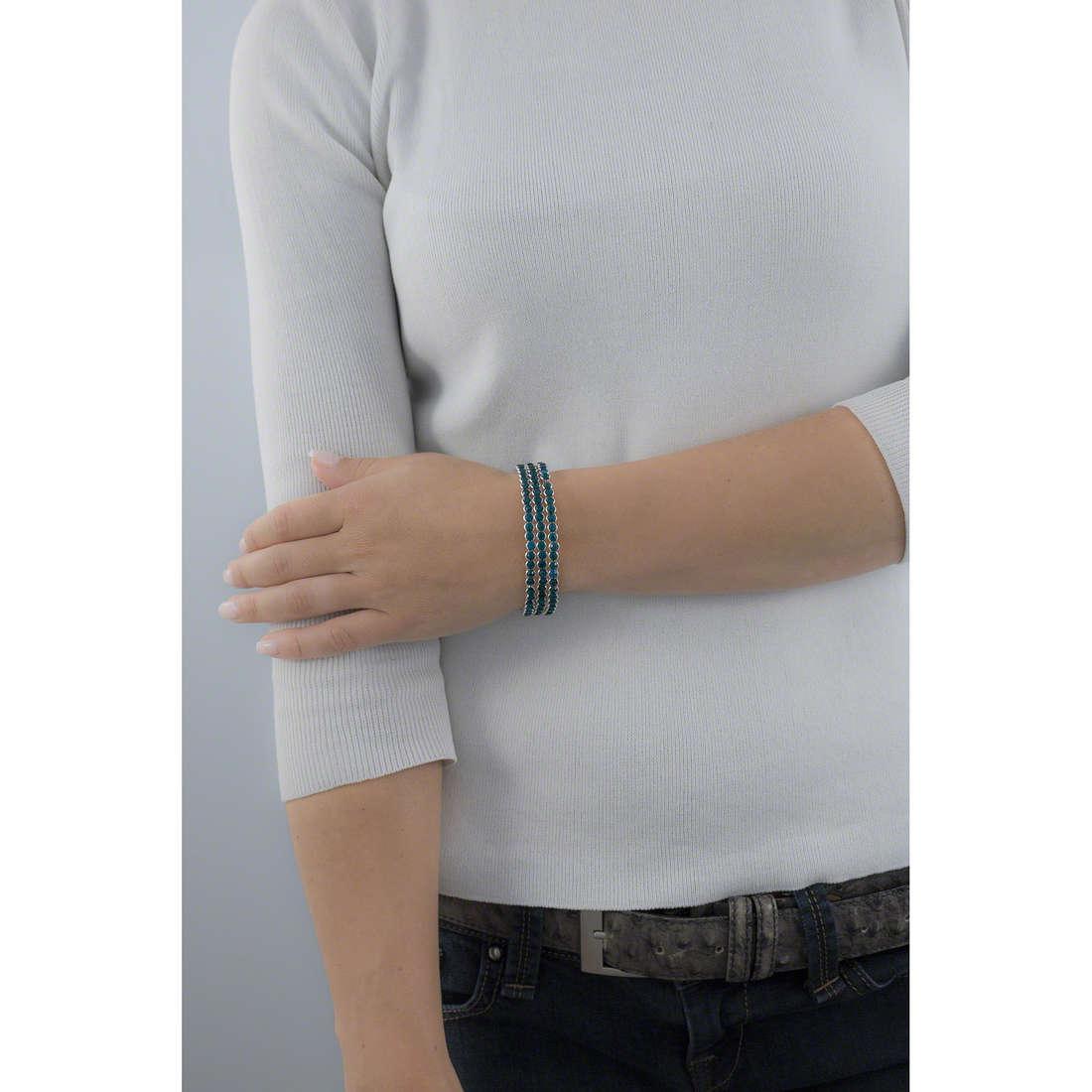 Luca Barra bracelets woman LBBK997 indosso