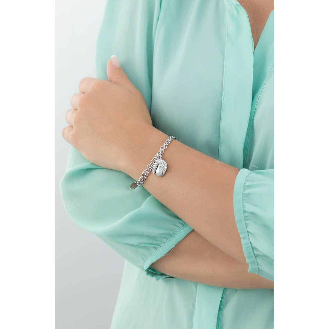 Luca Barra bracelets Roxanne woman LBBK1080 indosso