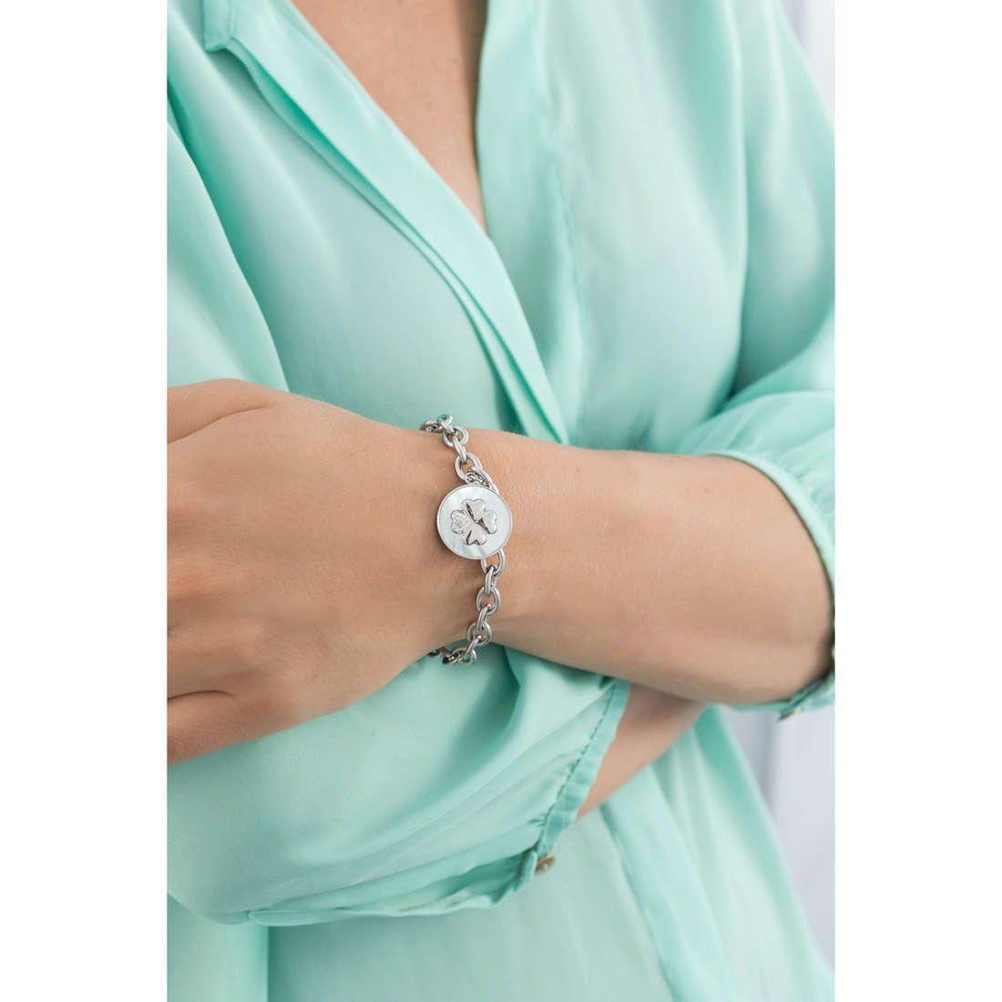 Luca Barra bracelets Sue woman LBBK1062 indosso