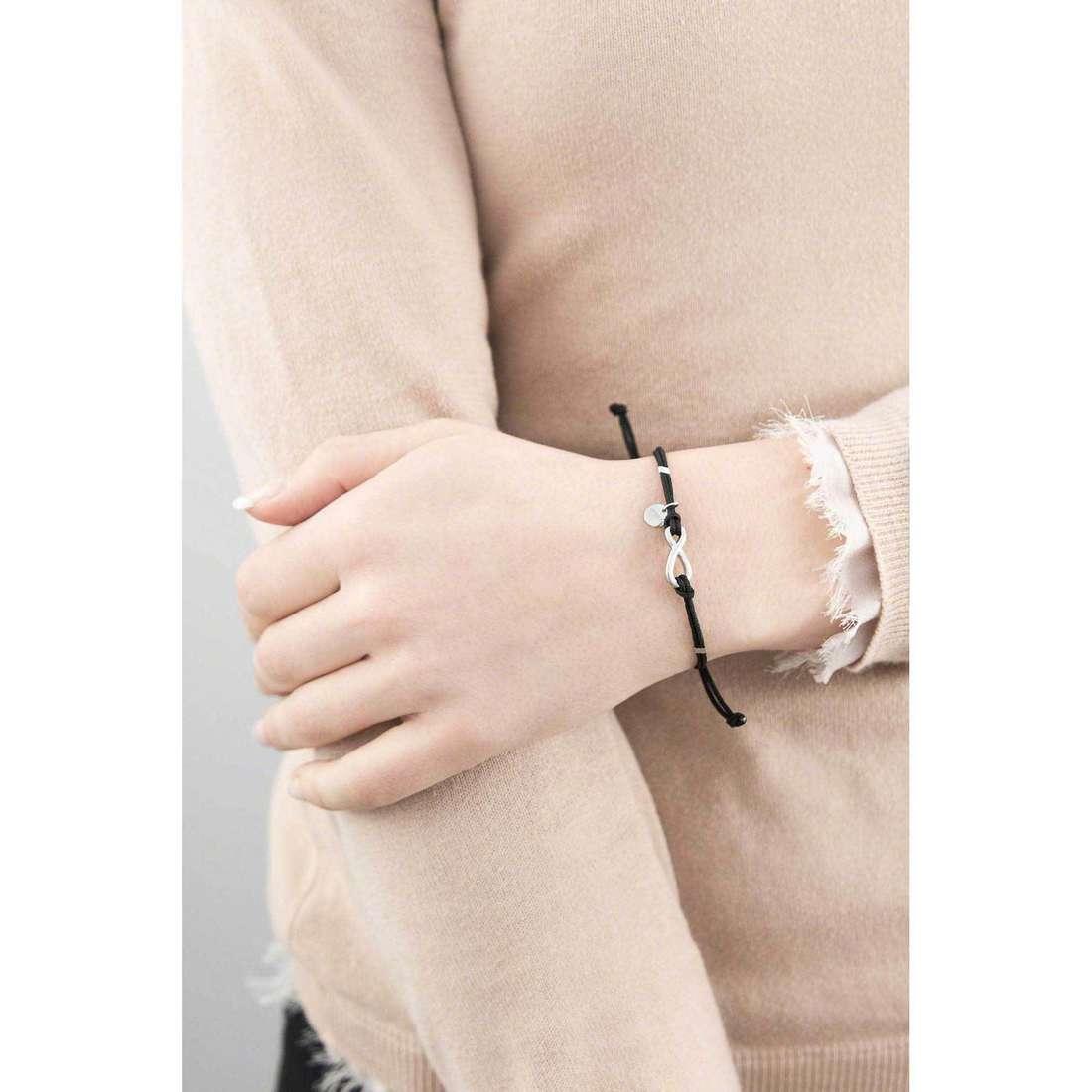 Marlù bracelets My infinity woman 18BR004N indosso