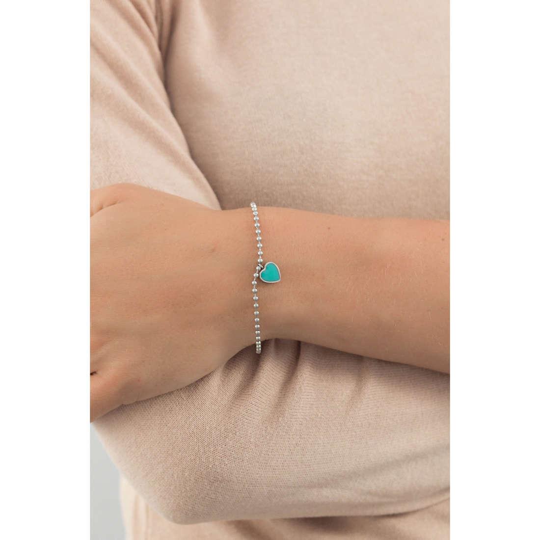 Marlù bracelets My Word woman 18BR046T indosso