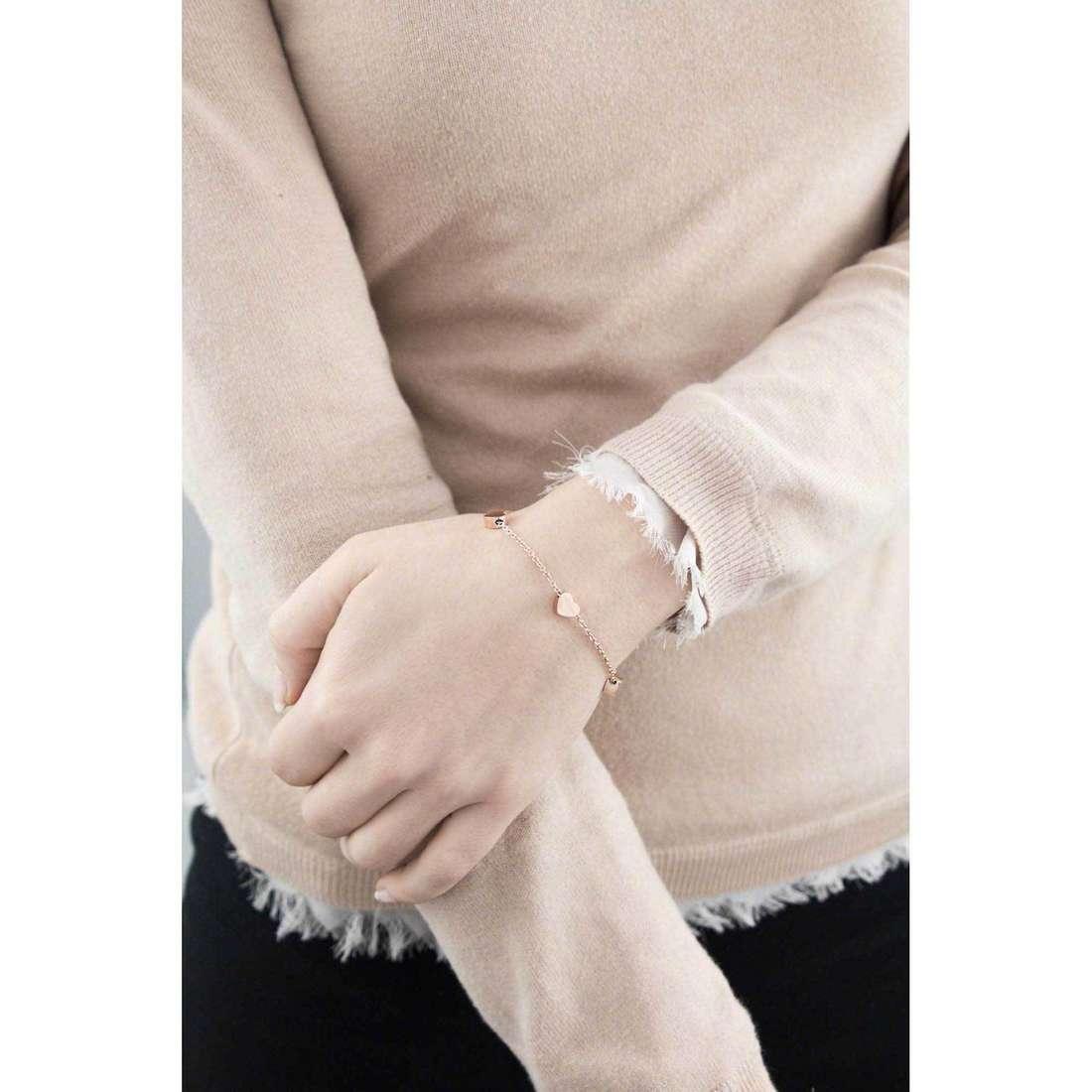 Marlù bracelets My World woman 18BR020R indosso