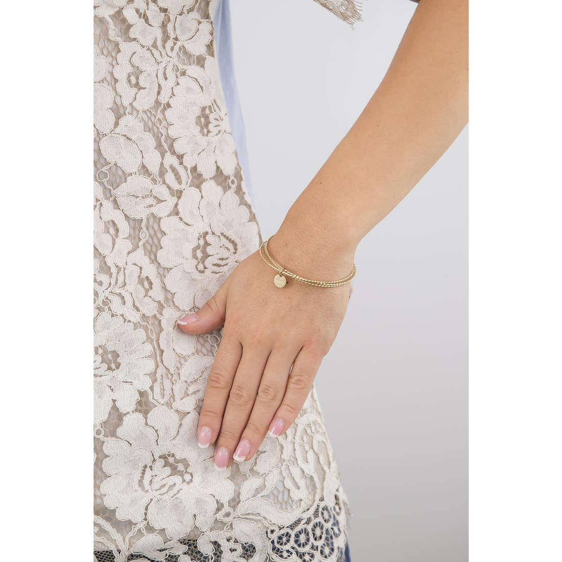 Marlù bracelets Nel mio Cuore woman 15BR013G indosso