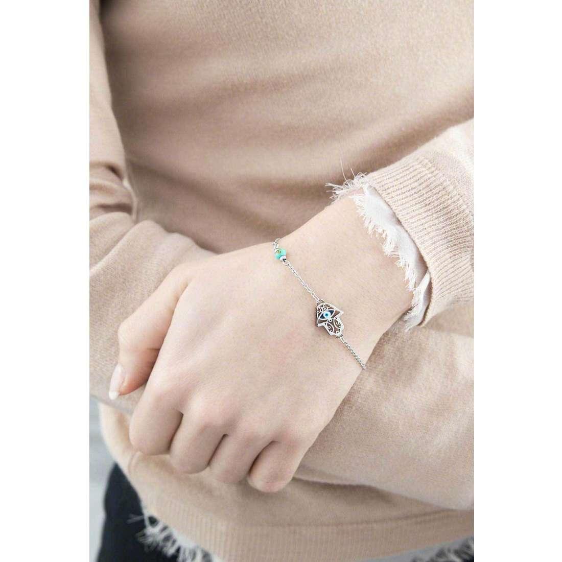 Marlù bracelets Segni woman 14BR097 indosso