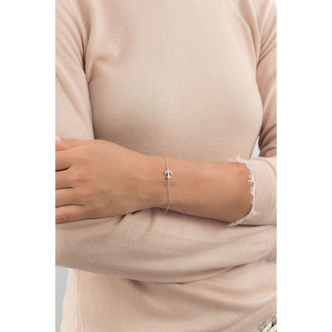 Marlù bracelets Time To woman 18BR048 indosso