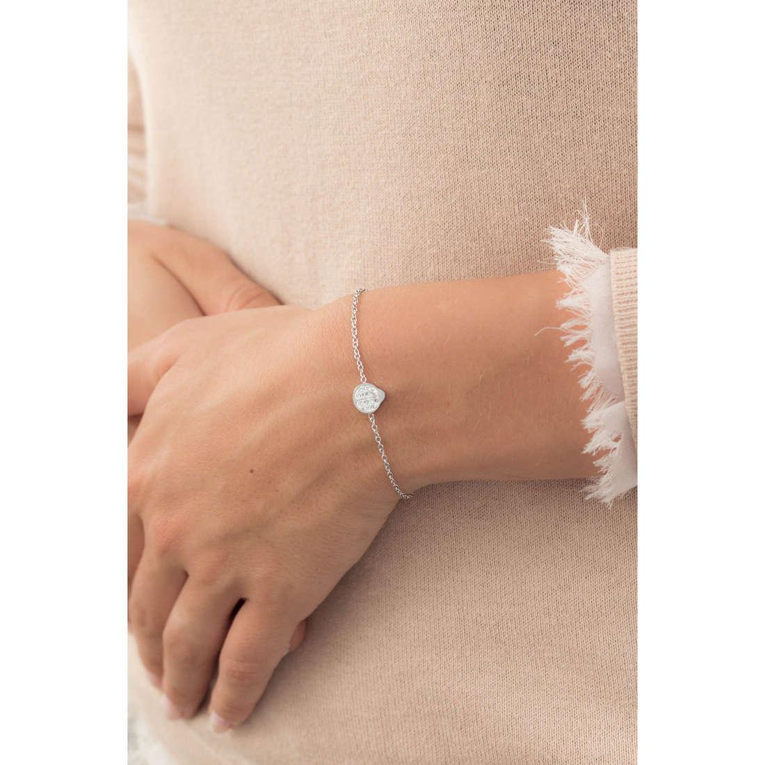 Marlù bracelets Time To woman 18BR049 indosso