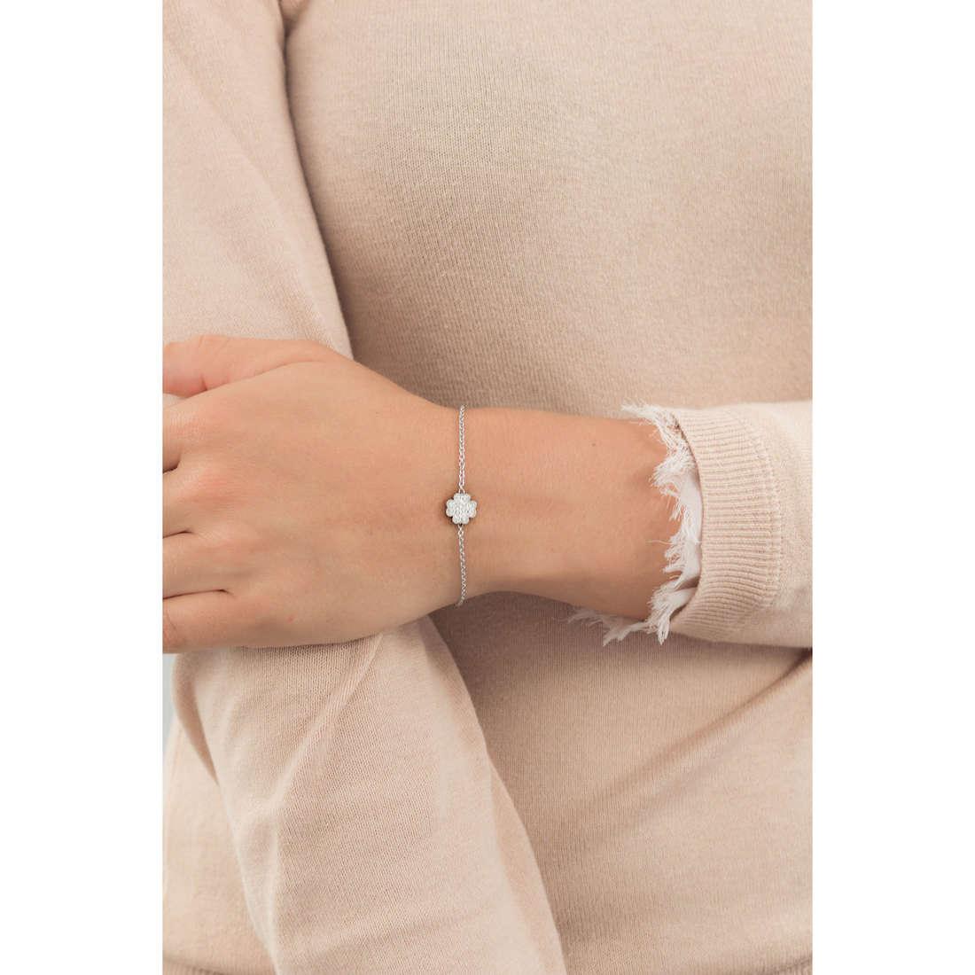 Marlù bracelets Time To woman 18BR053 indosso