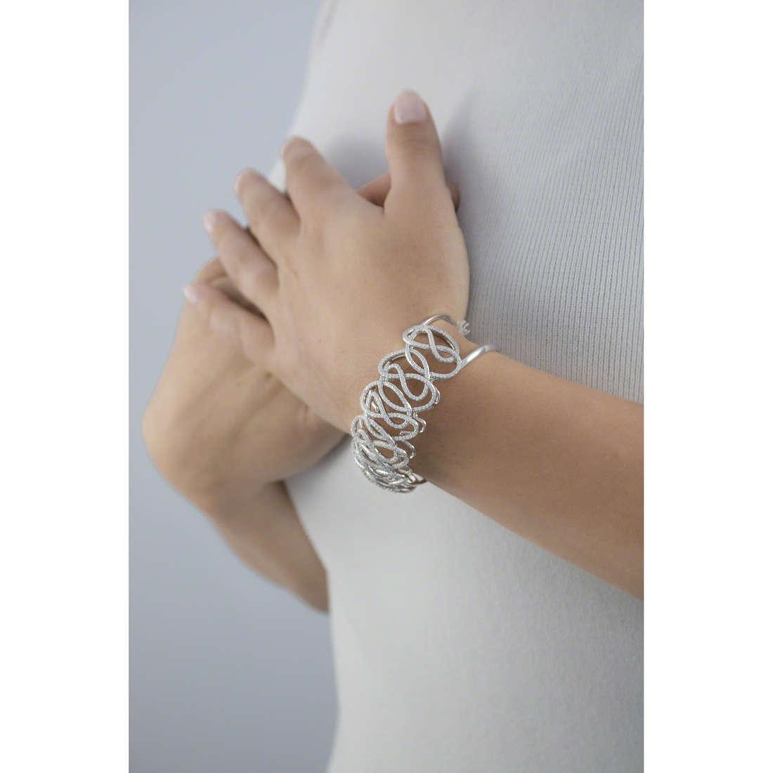 Morellato bracelets 1930 Michelle Hunziker woman SAHA05 indosso