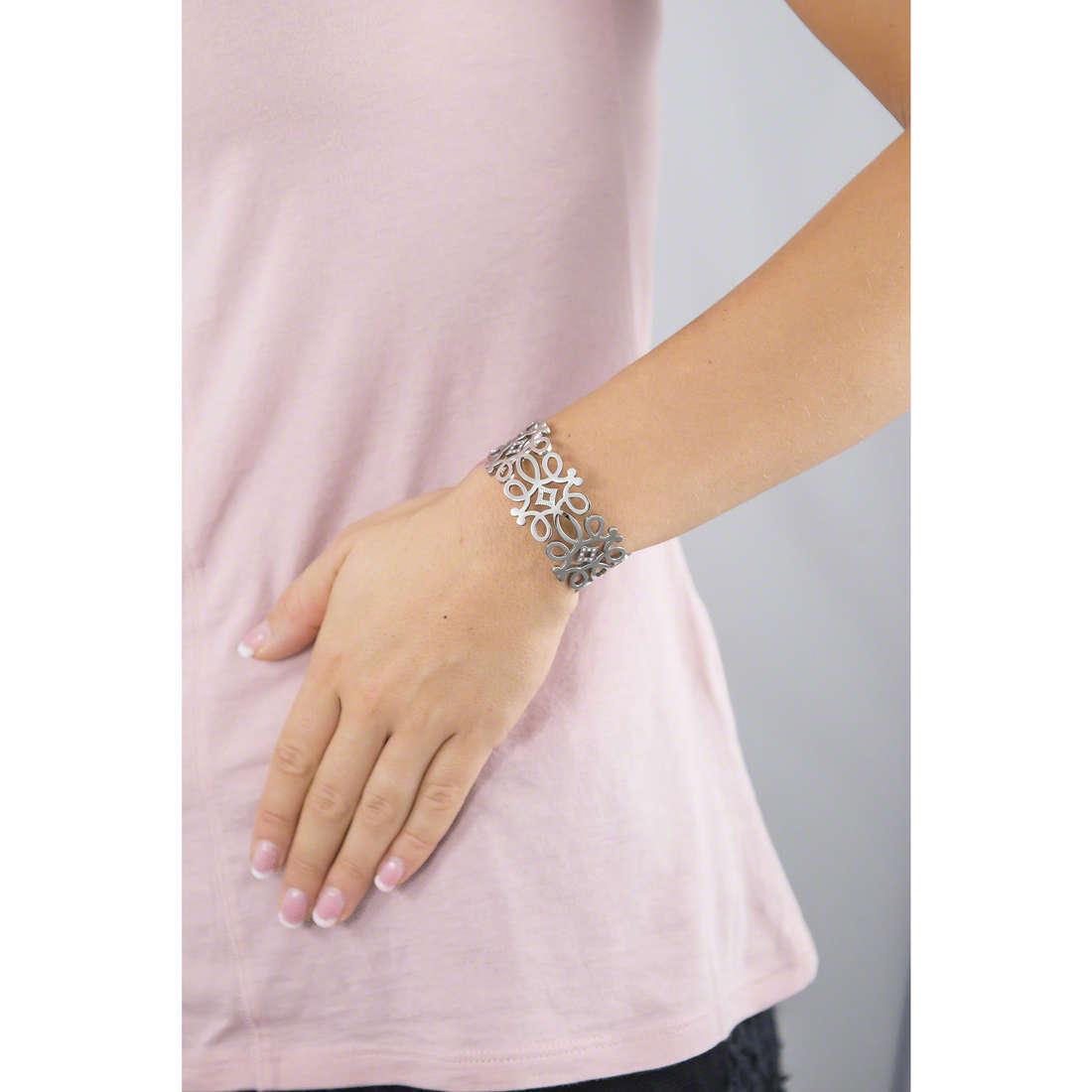 Morellato bracelets Arabesco woman SAAJ21 indosso