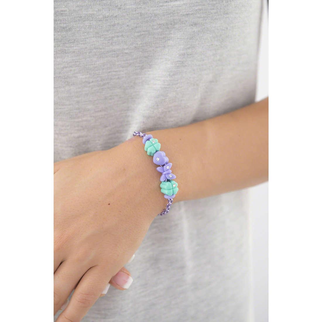 Morellato bracelets Drops Colours woman SABZ281 indosso