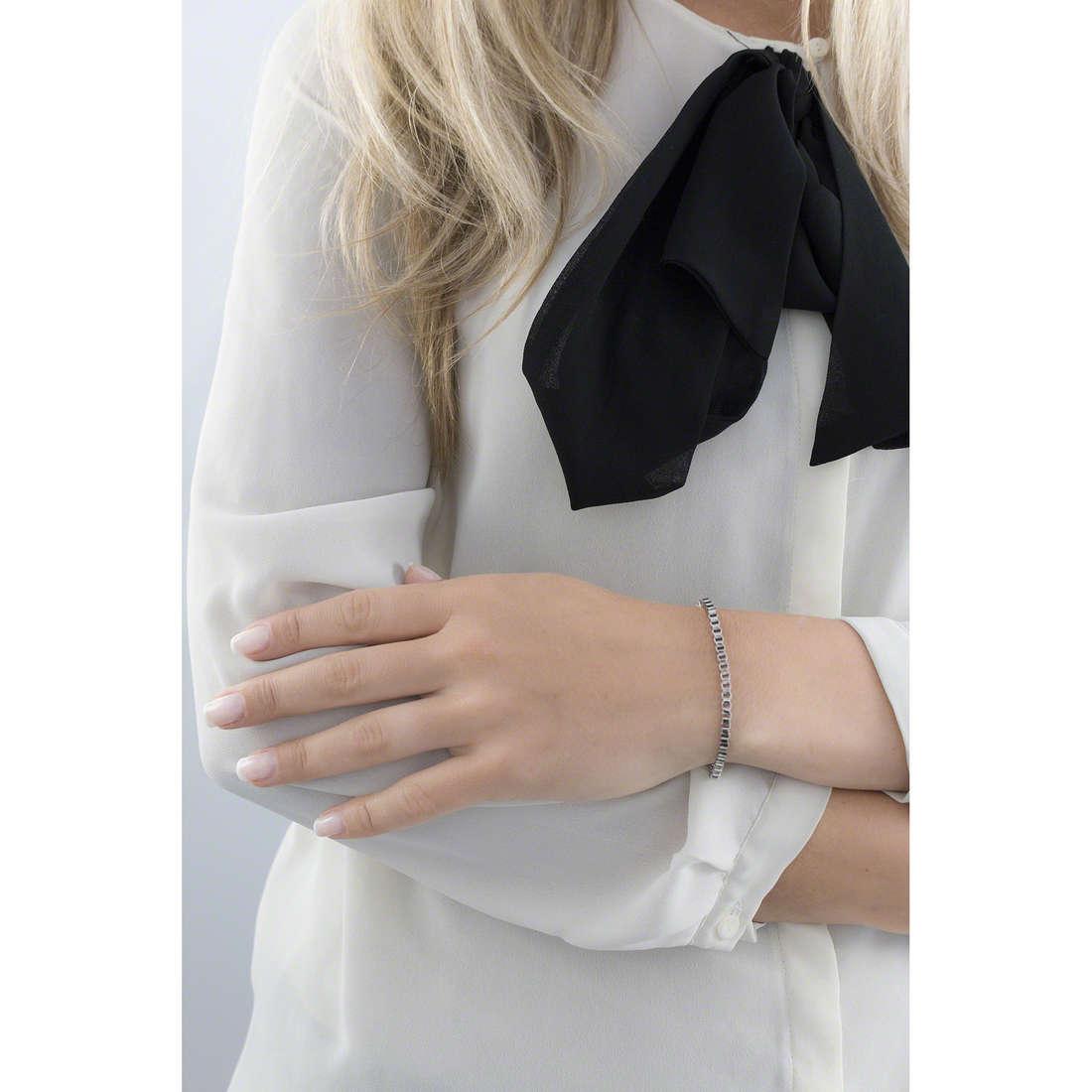 Morellato bracelets Drops woman SCZ137 indosso