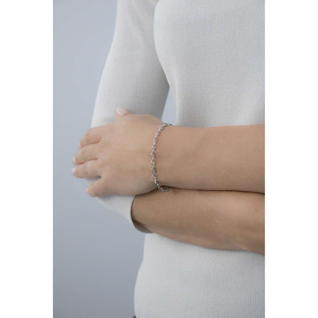 Morellato bracelets Drops woman SCZ138 indosso