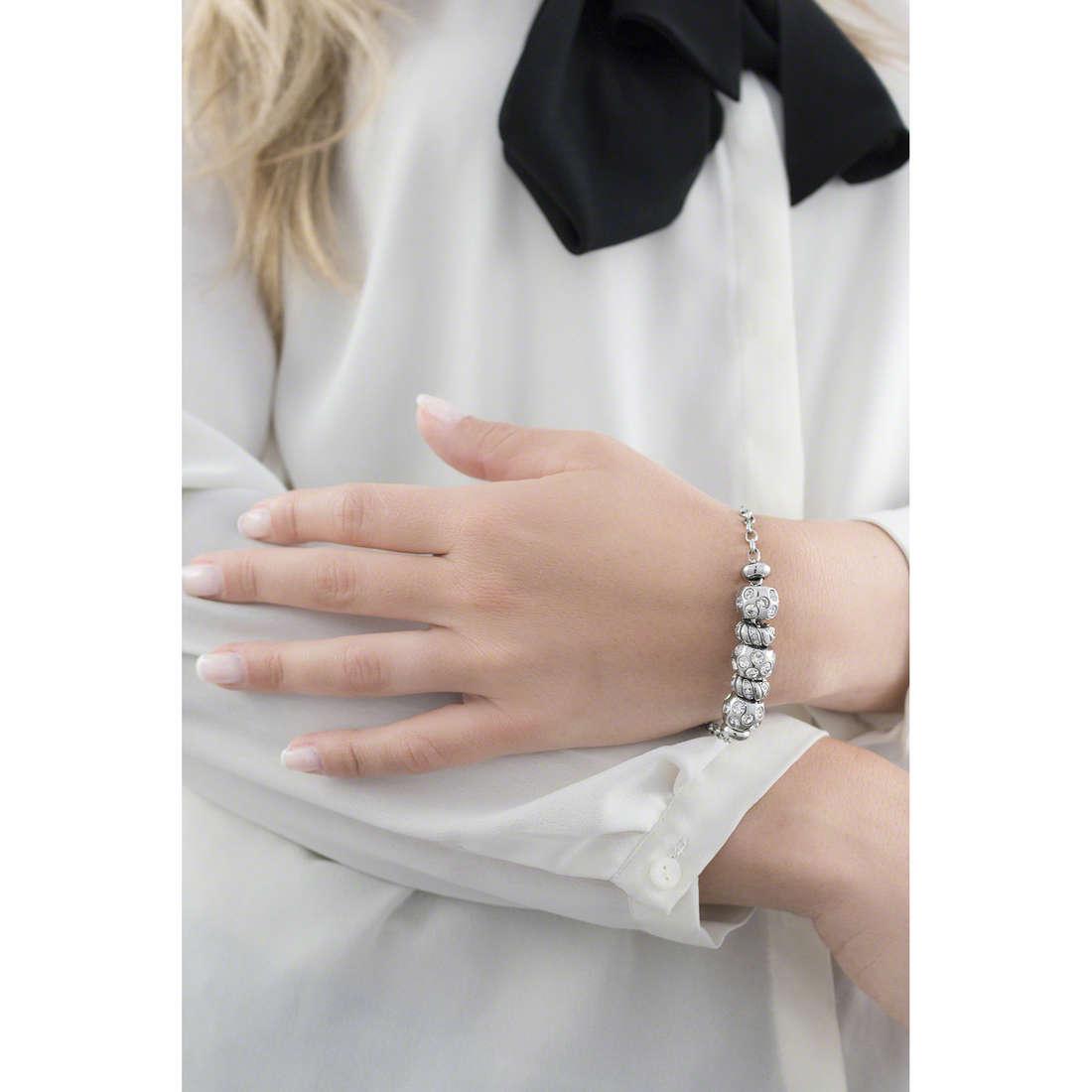 Morellato bracelets Drops woman SCZ157 indosso
