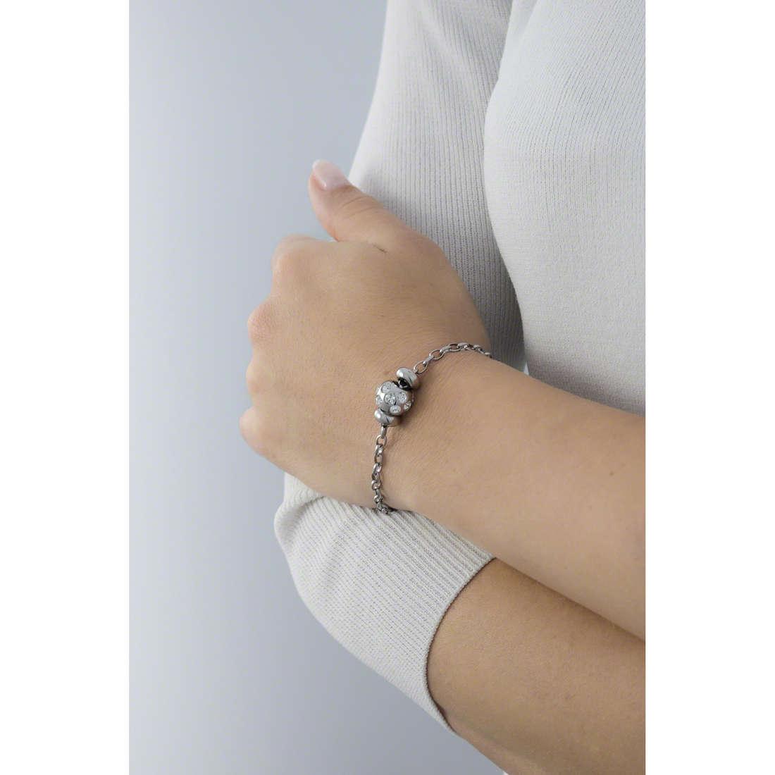 Morellato bracelets Drops woman SCZ167 indosso