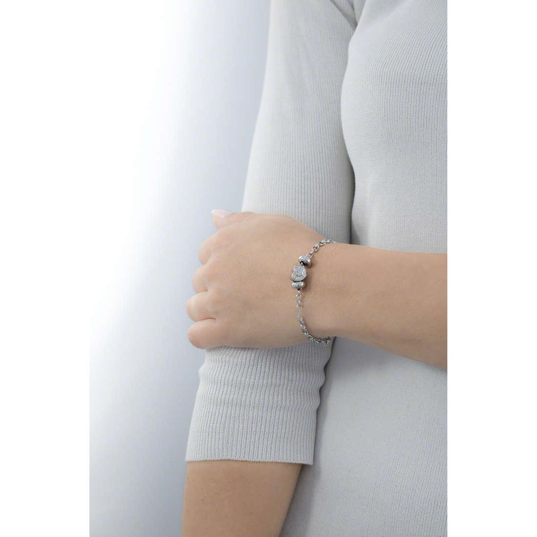 Morellato bracelets Drops woman SCZ169 indosso