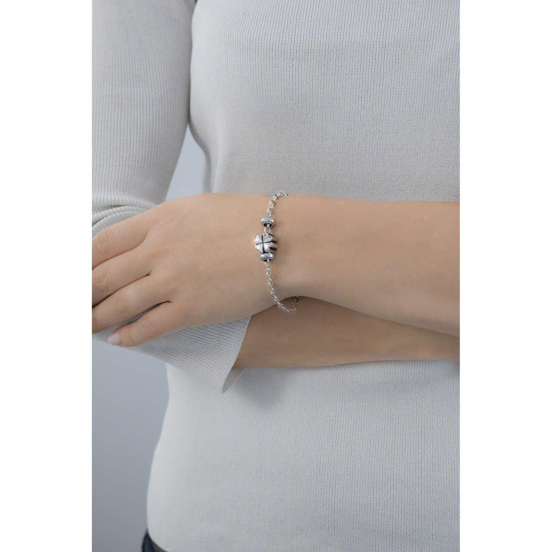 Morellato bracelets Drops woman SCZ170 indosso