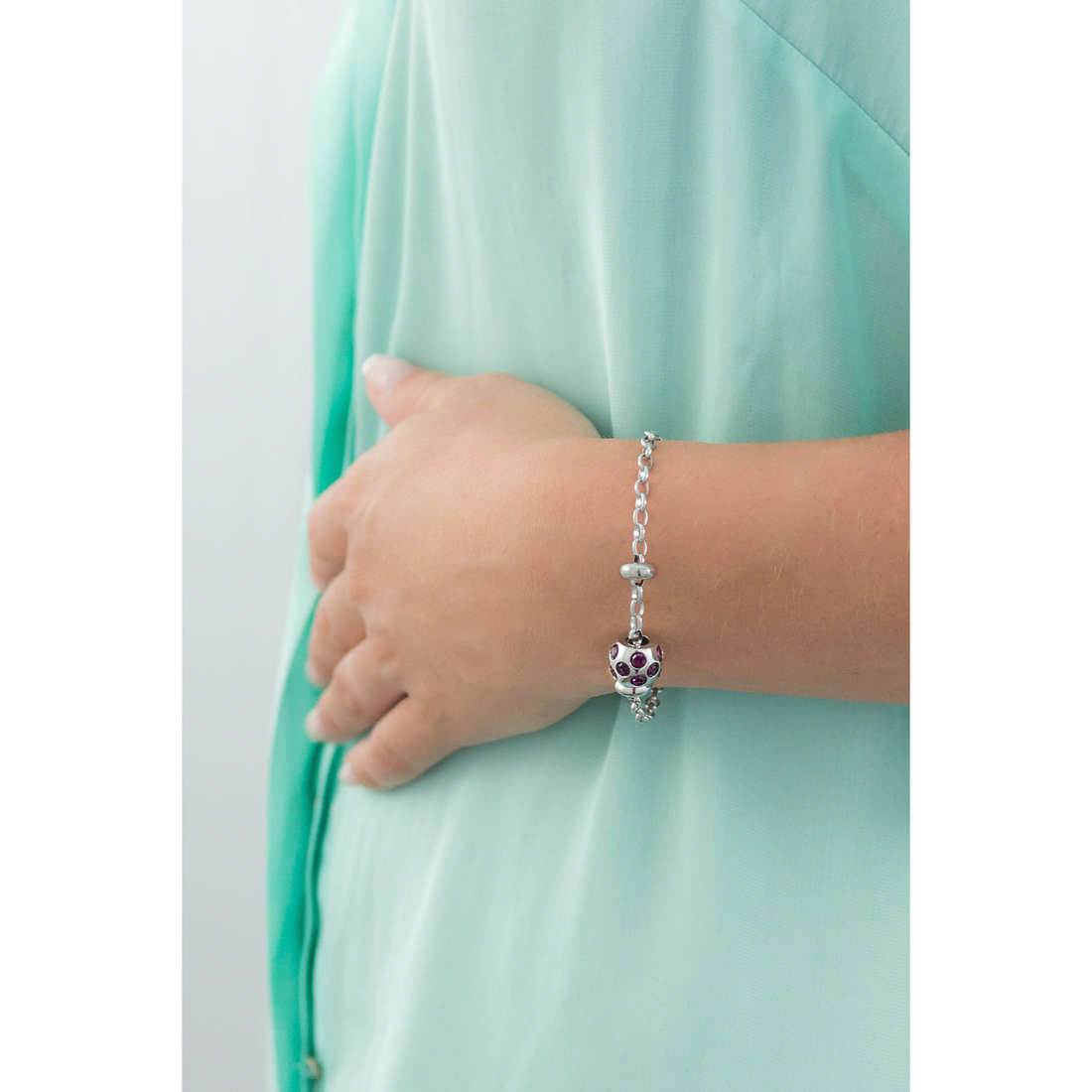 Morellato bracelets Drops woman SCZ171 indosso