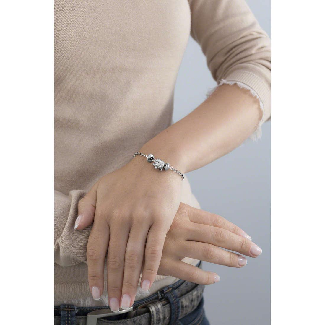 Morellato bracelets Drops woman SCZ344 indosso