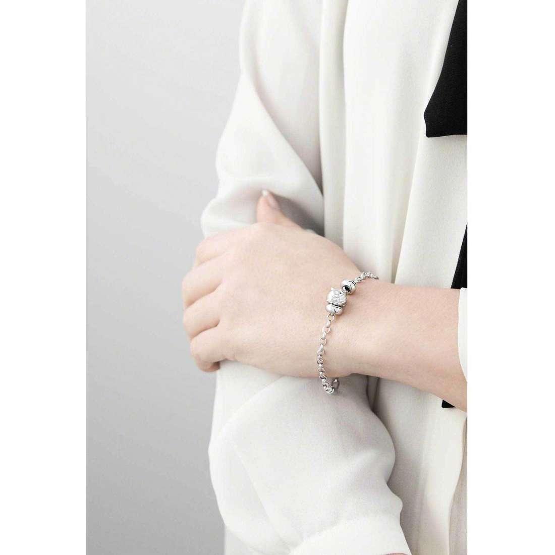 Morellato bracelets Drops woman SCZ345 indosso