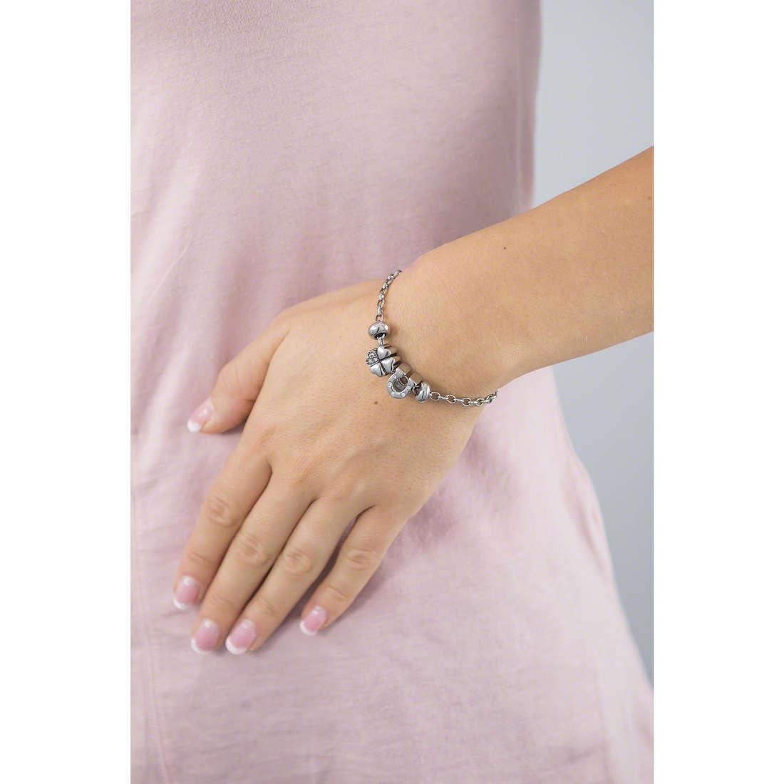 Morellato bracelets Drops woman SCZ348 indosso