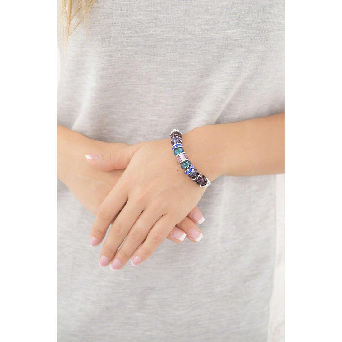 Morellato bracelets Drops woman SCZ365 indosso