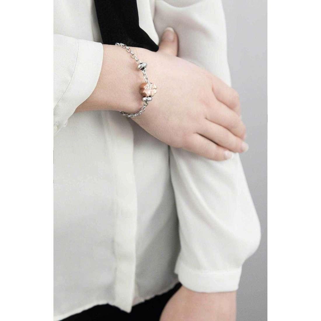 Morellato bracelets Drops woman SCZ369 indosso
