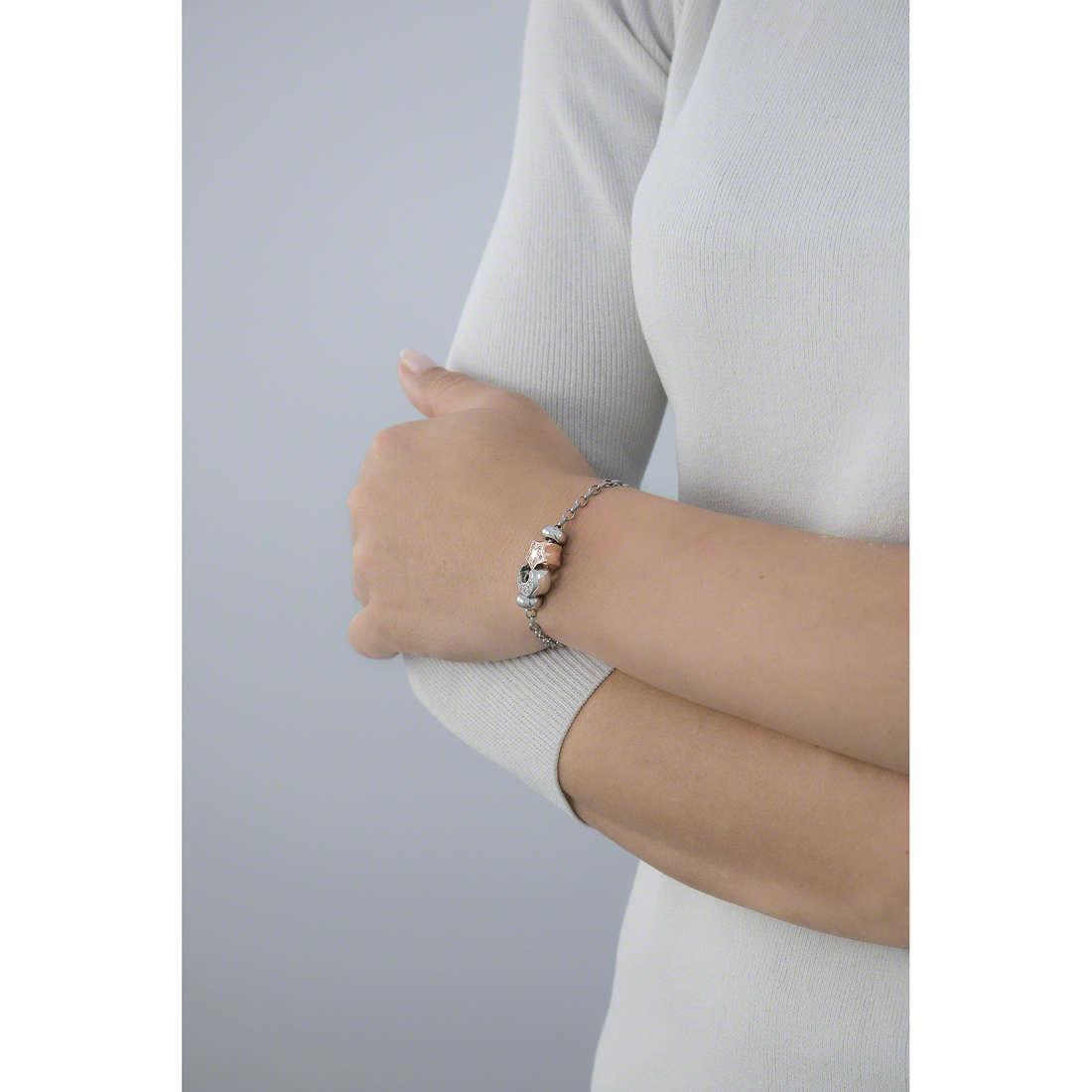 Morellato bracelets Drops woman SCZ371 indosso