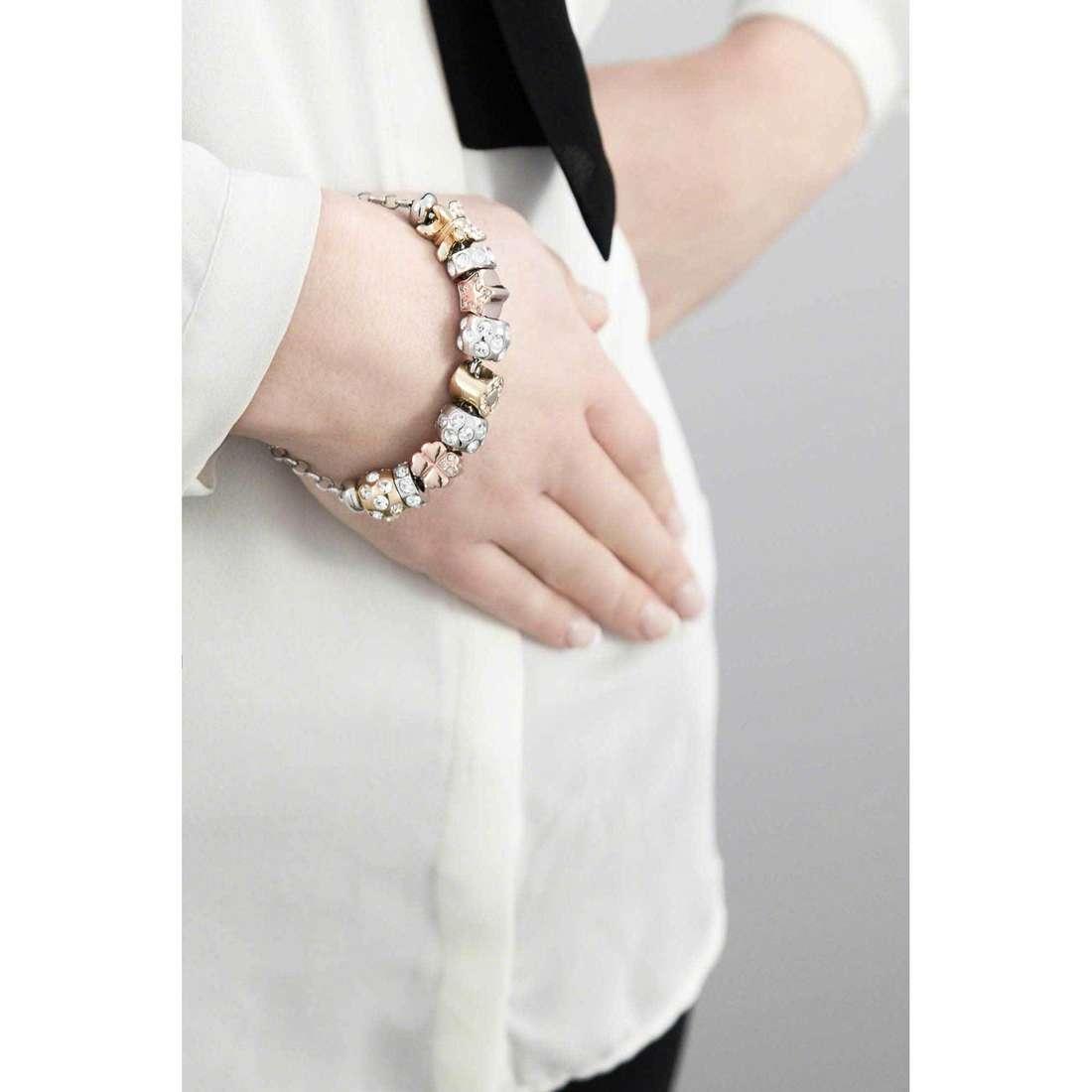 Morellato bracelets Drops woman SCZ405 indosso