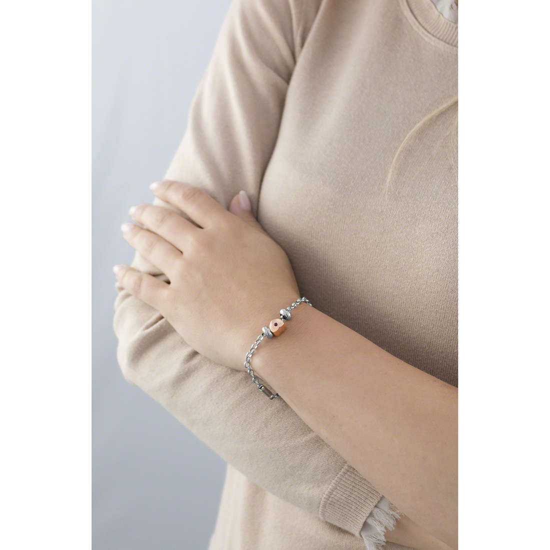 Morellato bracelets Drops woman SCZ447 indosso