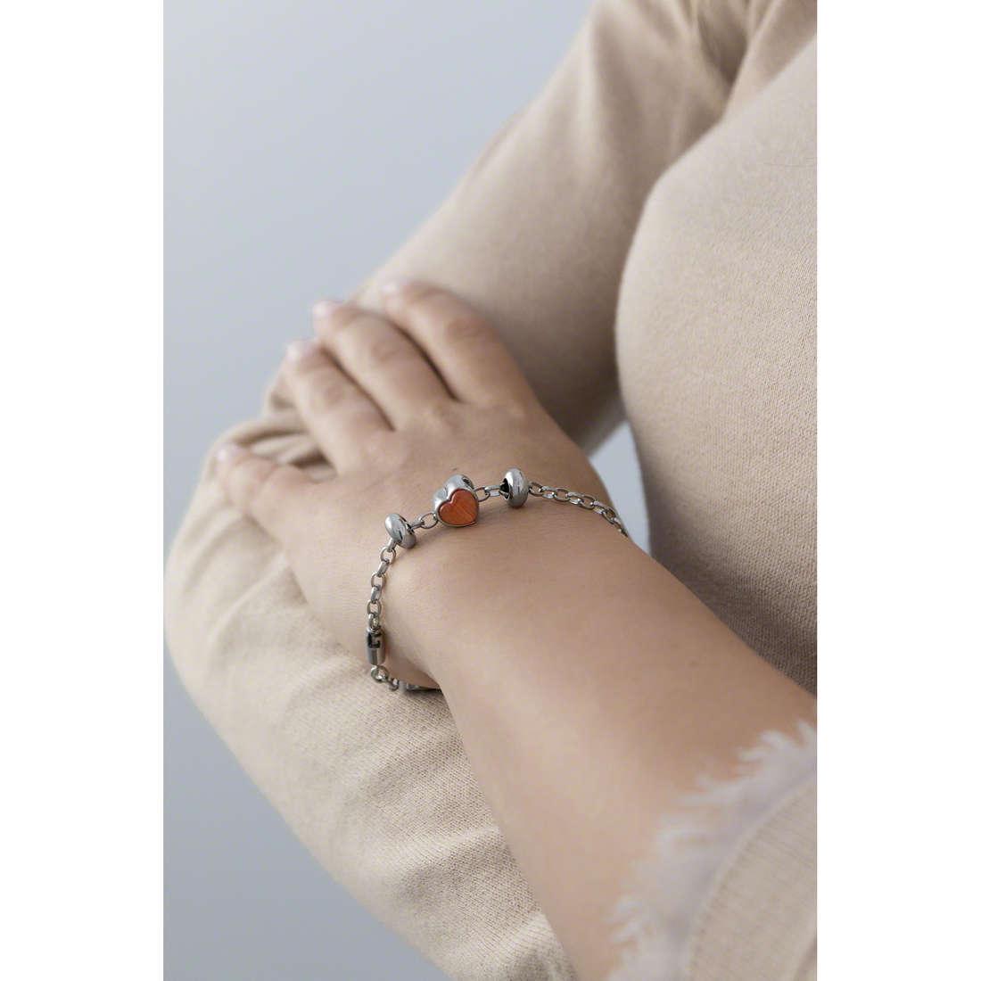 Morellato bracelets Drops woman SCZ450 indosso