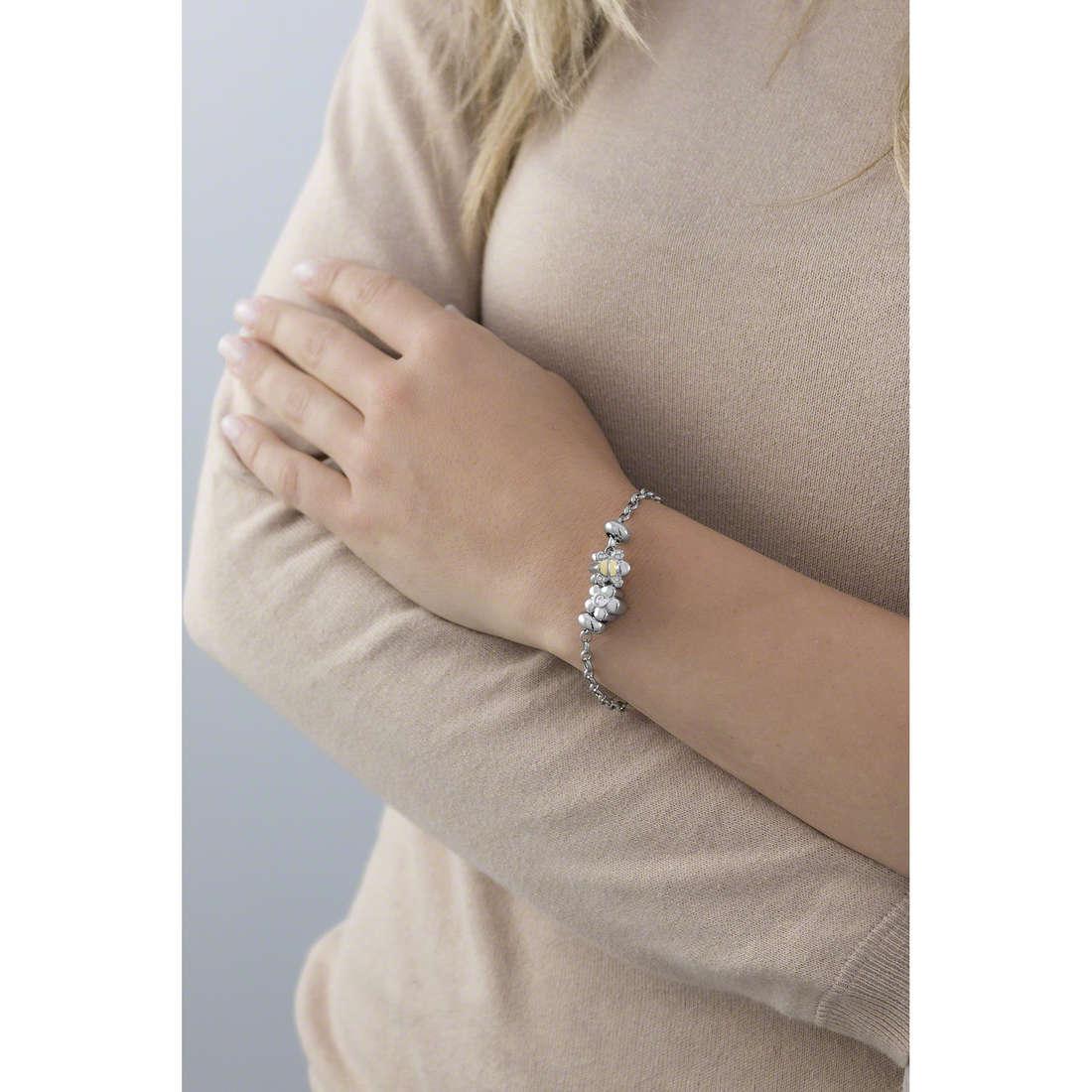 Morellato bracelets Drops woman SCZ453 indosso